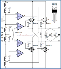power mosfet bridge rectifier circuit diagram