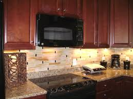 Glass Tile Kitchen Backsplash Designs Interesting Inspiration