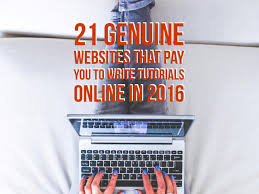 online writing jobs archives ⋆ the pink route 21 genuine websites that pay you to write tutorials online in 2016