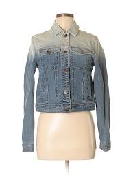 pin it forever 21 women denim jacket size m