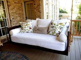 patio swing converts to bed monthly inspiration outdoor furniture