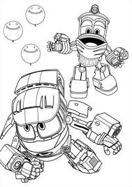 Good practice for young learners who know basic colours. Kids N Fun Com 15 Coloring Pages Of Robot Trains