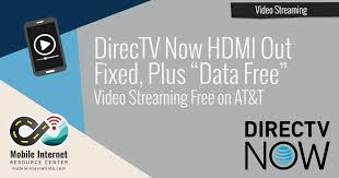 directv now 2 1 update fi hdmi out and now streams data free on at t mobile internet resource center