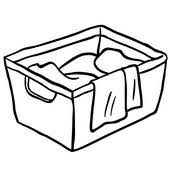 laundry clipart black and white.  White Laundry Basket Icon Black And White Laundry For Clipart Black And White A