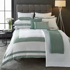 imperial aqua border bedding