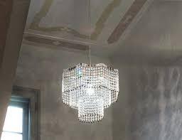 swarovski crystal chandelier surprising large chandeliers long spiral glass and lamp