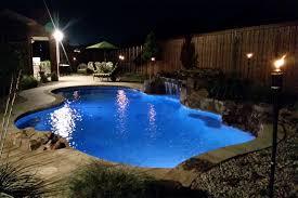 inground pools at night. Inground Swimming Pool Sherman Texas Pools At Night S
