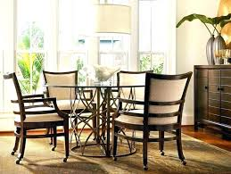 dining table with caster chairs dining room table with roller chairs dining table with caster dining table with caster chairs