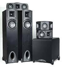 klipsch 5 1 surround sound system. klipsch synergy f-1 5.1 surround sound home theater system w f10 subwoofer 5 1
