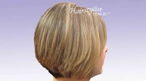 Stacked Bob Hair Style layered graduated bob hair tutorial stacked bob razor cut youtube 7051 by wearticles.com