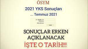 2021 YKS ERKEN AÇIKLANACAK, İŞTE MUHTEMEL TARİH!!! - YouTube