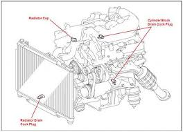 lexus is how to flush radiator clublexus coolant bung diagram