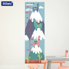 Personalised Height Chart Personalised Llama Height Chart Stikets
