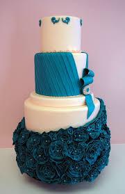 Purple Blue Wedding Designer Cakes Cupcakes Mumbai 81 Cakes And