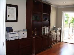 custom home office design stock. Home Office Furniture With Built In Shelves Custom Design Stock