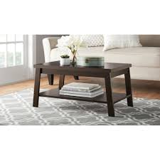 mainstays logan coffee table multiple finishes com