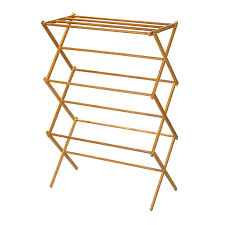 Racks, Household Essentials Tall Indoor Folding Wooden Clothes Drying Racks  Ikea Design: Amazing Drying ...