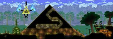 Pyramid Houses Terraria Pyramid And Desert Houses By Scythethedoublade On Deviantart