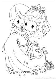 Precious Moments Christmas Coloring Pages D Precious Moments