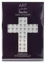 Christina Fitzgerald <b>наклейка для ногтей</b> 'серый крестик'-<b>nail</b> care ...
