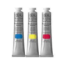 Winsor Newton Professional Artists Acrylic 200ml