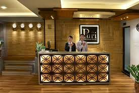 De Puri Boutique Hotel: Reception Area