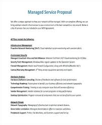 Service Proposal Examples Samples Provider Appointment Letter ...