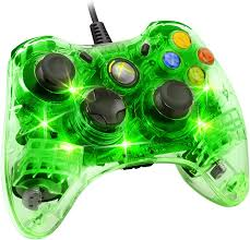 Xbox 360 4 Green Lights Amazon Com Afterglow Wired Controller For Xbox 360 Green