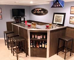 small basement corner bar ideas. Bar : Marvelous Small Basement Ideas With Corner I