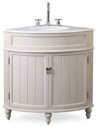 24 Thomasville Taupe Corner Bathroom Vanity Traditional Bathroom Vanities And Sink Consoles By Chans Furniture Houzz