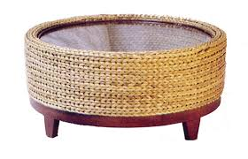 seagrass round coffee table for awesome seagrass round coffee table starrkingschool