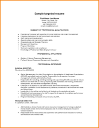 Sample Targeted Resume Best of Example Of Targeted Resume Download Targeted Resume Sample