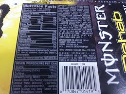 monster energy can warning. Perfect Monster 10 Words On Monster Minis Hurray U2013 1 Servingcan Warning 12 Canscase  GreenEyedGuide Throughout Energy Can F