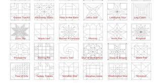 Coastal Meanings Barn Quilt Patterns - Patterns Kid & Website ... Adamdwight.com