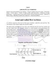 Limiting Factors In Turbine Design Note For Propulsion Ii P Ii By Santosh Verma