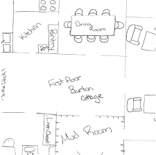 krueger detailed drawing of floor plan for sense and sensibility in high school 2014