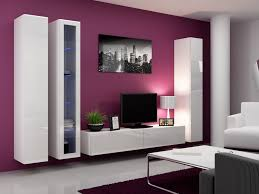 Modular Living Room Furniture Living Room Living Room Modular Shaped Wood Wall Mounted Tv