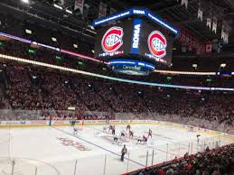 Bell Centre Hockey Seating Chart Centre Bell Section 116 Home Of Montreal Canadiens