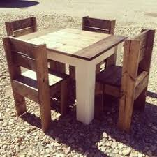 2x4 kids table and chairs