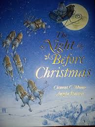 clement c moore angela barrett - the night before christmas - AbeBooks
