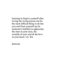 Forgive Yourself Quotes Stunning Learning To Forgive Yourself Quotes Sayings Pinterest