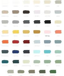 Fusion Mineral Paint Color Chart Colours Mineral Paint Paint Furniture Paint Colors For Home