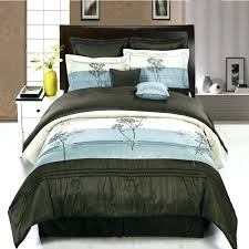 chocolate brown king size comforter set blue and sets bedding throughout renovation light baby bedspreads