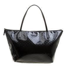kate spade black embossed patent leather tote nextprev prevnext