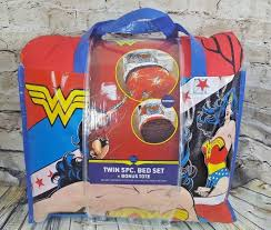 dc comics wonder woman comforter bed set 5pcs twin size reversible comforter 39 59