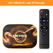 2020 TV Box HK1 RBOX R1 4GB 64GB Rockchip RK3318 1080P 4K Google Play Store  Netflix Youtube Set Top Box - Black 2GB 16GB China US Plug Sale, Price &  Reviews