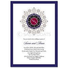 Alia Designs Invitations Indian Wedding Invitation Enchanting Emblem