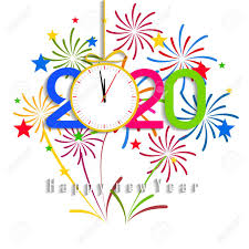 Image result for Happy New Year 2020 Clipart free