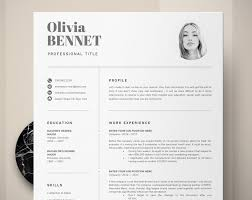 How To Make A Modern Resume In Word Resume Template Professional Resume Word Cv Template Modern Resume One Two Page Resume Template Creative Resume Resume Design
