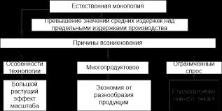 Реферат Государственное регулирование естественных монополий  Рис 1 1 Экономическая природа естественной монополии 2